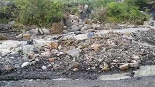 Más de tres mil personas incomunicadas por daños en las vías de Molagavita