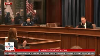 Witness #10 testifies at Michigan House Oversight Committee hearing on 2020 Election. Dec. 2, 2020.