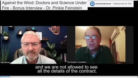 Dr. Pinkie Feinstein in Dr Paul Thomas'es Against the Wind: doctors and Science Under Fire