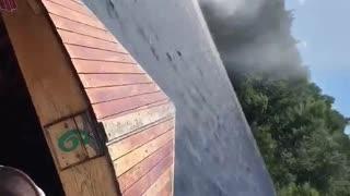Waterspout Worries Boat Passengers