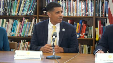 Progress Monitoring Roundtable: Superintendent of Schools Marcus Chambers