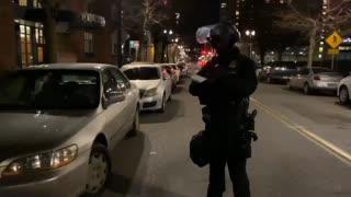 Wheeler backpeddles as police take down license plates of known antifa