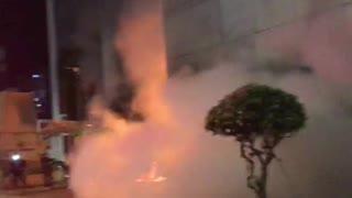 Incendio Davivienda en Bucaramanga