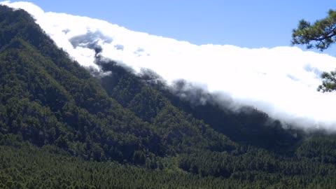 Wolkenwaterval op La Palma.