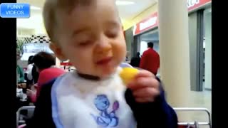 Babies First Time Eating Lemon Cute Funny Reactions