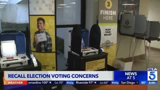 Recall Election Voting Concerns