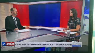 OANN Christina Bobb Interview with Colonel Phil Waldron on Election Fraud - Part 1 of 2