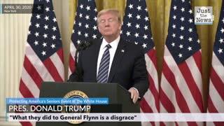 President Trump on Flynn