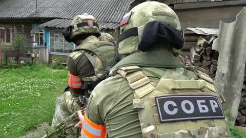 SOBR Officers During Operational and Strategic Exercises 'Zaslon-2021'