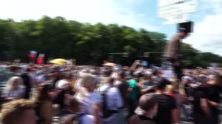 Anti-lockdown protests in Berlin