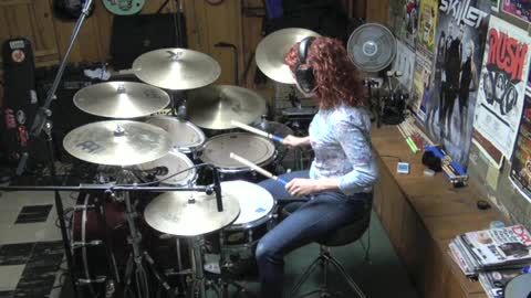 I Got You by The Split Enz ~ Drum Cover