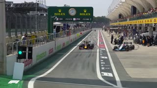 incredible video of f1 accidents