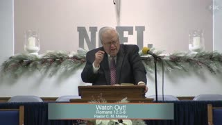 Pastor C. M. Mosley, Series: The Book of Romans, Watch Out!