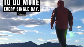 Push Yourself to Do More Every Single Day