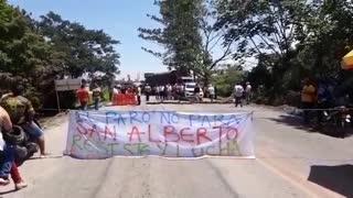 bloqueo en San Alberto 26M