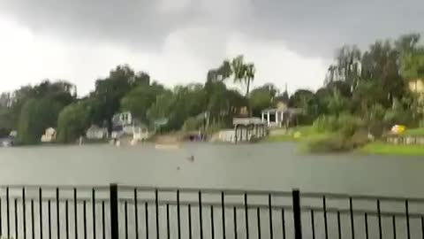 Tornado pass right over this house, aftermath damage caught on camera