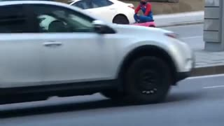 Video Shows Someone Mario Karting Through Downtown Montreal