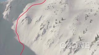 Skiing Ozone at Kicking Horse Mountain Resort