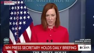 White House Press Secretary Jen Psaki - Circle Back.- Joe Biden administration