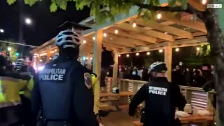 SHOCKING: Washington D.C. Looks Like a Warzone as ANTIFA and Police Clash
