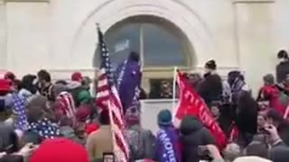 Antifa being called out at Capitol on January 6
