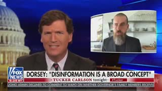 Tucker Carlson Has a SAVAGE Response to Twitter CEO's Rant on Disinformation