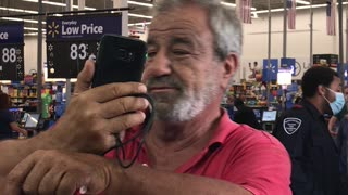 Man Claims Exemption From Wearing Mask in Walmart