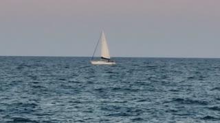 A Sailboat on Lake Michigan 8/17/21