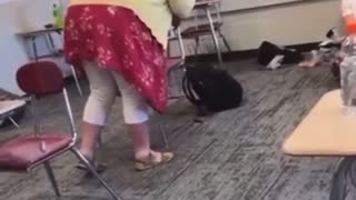 WILD: Teacher Harasses Student for Not Wearing a Mask