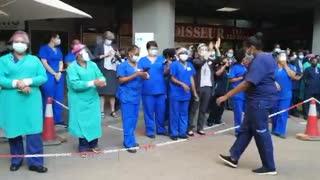 Mediclinic Mediforum staff dance