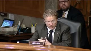 Rand Paul SCORCHES Dr. Fauci and Dems For Botching COVID-19