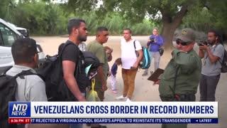 Venezuelans Cross Border in Record Numbers