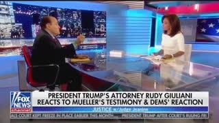 Giuliani Pirro interview part 1