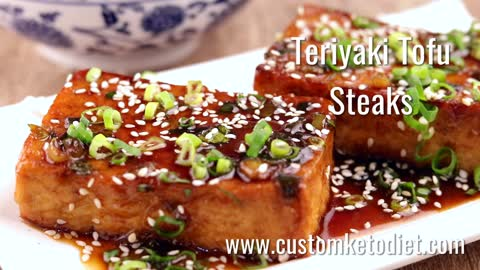 Keto Teriyaki Tofu Steaks Recipes