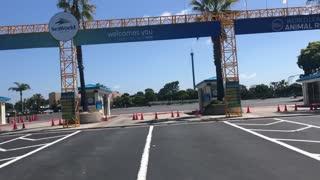 Sea World San Diego Closed Entrance