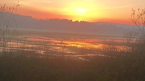 Beautiful sunset Coquille, Oregon