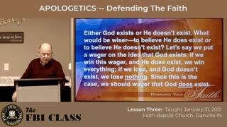 Defending Your Faith - Lesson 3 (Part 1)