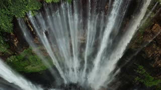 great waterfall water