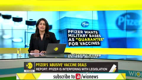 Pfizer After Military Bases & Sovereign Assets as Guarantee