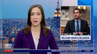 Hundreds of Military Whistleblowers Report 'Anti-American Indoctrination' Training: Sen. Cotton