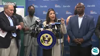 AOC says answer to violent crime is to stop...
