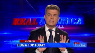 Real America - Dan #GETREAL 'Hug A Cop Today'
