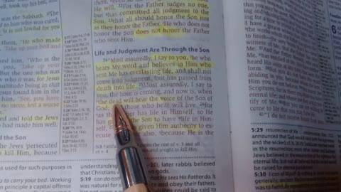 Bible Study - Life & Judgment through the Son - John 5:24-30 - Jarrin Jackson