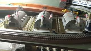 NYT R17 Rail King Subway O Guage train layout pt 1