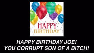 Happy Birthday to Joe Biden