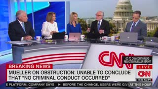 Gloria Borger basically says Trump obstructed justice