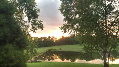 ASMR Sunset from the Seminary of Pastor Rapture