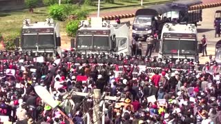 Yangon youth amp up Myanmar's anti-coup protests