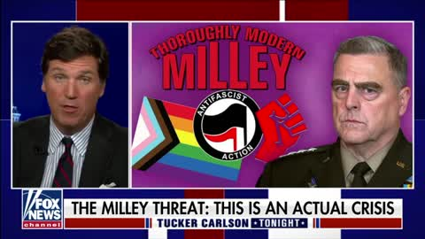 Teddy Daniels: 'Benedict Milley' Attempted 'Coup' Against Trump (Tucker Carlson Tonight)