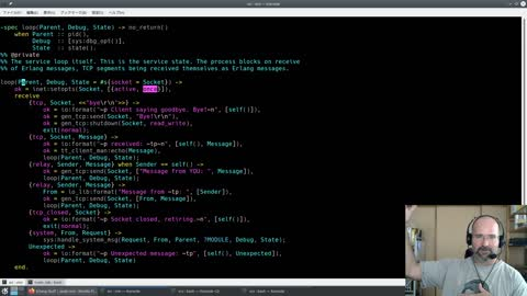 Erlang: Telnet Chat Server Part 1! Getting the basics out from scratch (cheating with ZX)